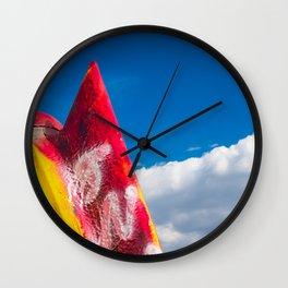Painted Cadillac Wall Clock