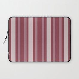 Dark Rose Victorian Lady Stripe Laptop Sleeve
