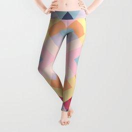 Abstract Retro Pattern 15 Leggings