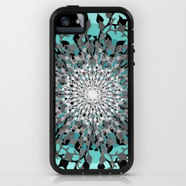Iris Branches iPhone Case