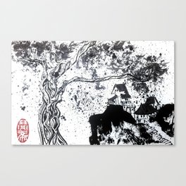 Lost Village Canvas Print