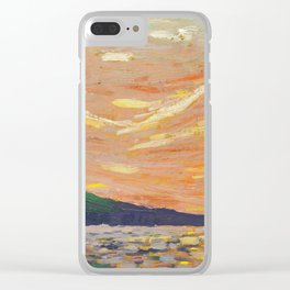Tom Thomson Smoke Lake Canadian Landscape Artist Clear iPhone Case