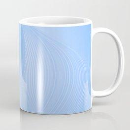 Blue Abstract Swirl Coffee Mug