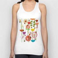 bees Tank Tops featuring WHERE THE BEES FLY by Chicca Besso