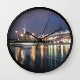 Berlin Jannowitzbrücke Wall Clock