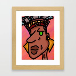 The Beautiful and Powerful Framed Art Print