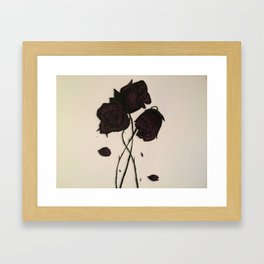 rxses Framed Art Print