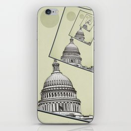 Political Spin iPhone Skin