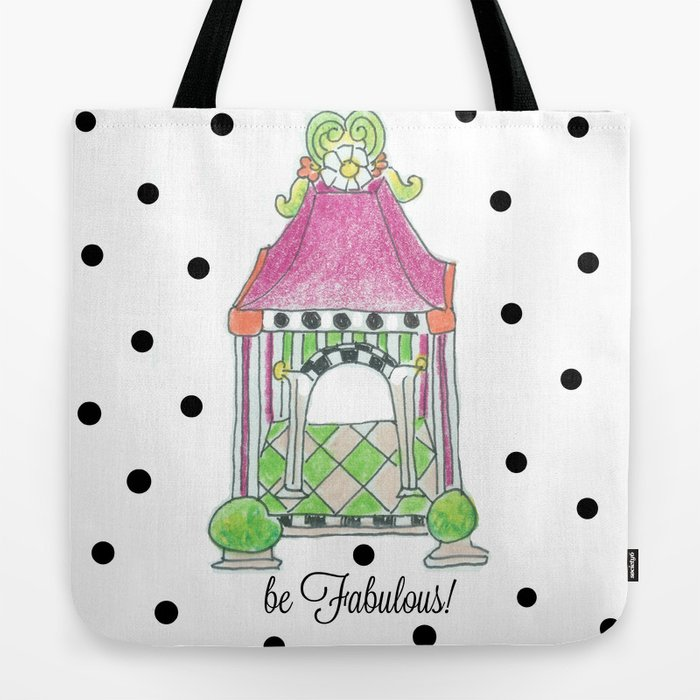 617c6b21bf be Fabulous! Tote Bag by paintedapron