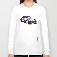 porsche Long Sleeve T-shirts featuring Porsche 911 by Remove Before . . .