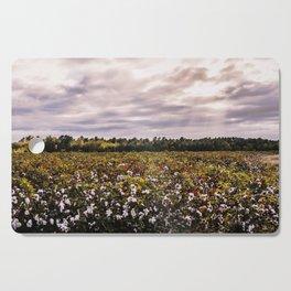 Cotton Field 23 Cutting Board