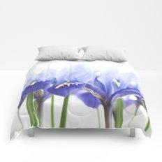 Bue Iris 2 Comforters