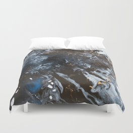 Freedom from Oil Part 1 Duvet Cover
