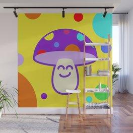 Shroomie - The friendly Magic Mushroom Wall Mural