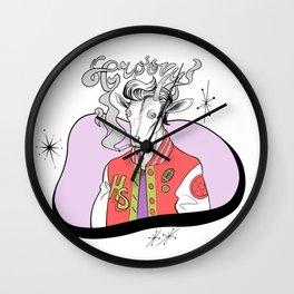 Groovy! Wall Clock
