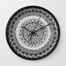 Zendala - Zentangle®-Inspired Art - ZIA 39 Wall Clock