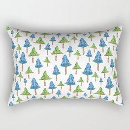 """Mushroom forest"" Rectangular Pillow"