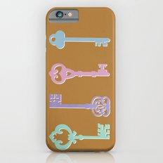 skeleton keys iPhone 6s Slim Case