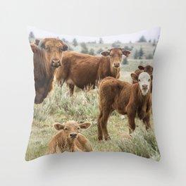 J'Accuse Throw Pillow