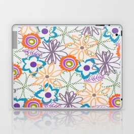 FALL FLOWERS Laptop & iPad Skin