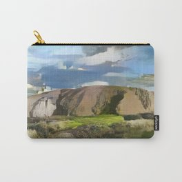 Ayers Rock in the Colors of Dover Carry-All Pouch