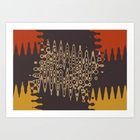 ethnic Art Prints featuring Ethnic by Sonia Marazia
