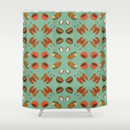 Delights of Brazil II Shower Curtain