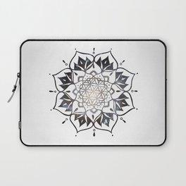 Namaste Nebula Mandala Design Laptop Sleeve