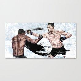 Nate Diaz vs. Michael Johnson Canvas Print