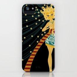 Divine Dames: Ratri iPhone Case