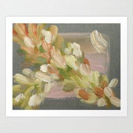 Feather Stream - Original Fine Art Print by Cariña Booyens Art Print