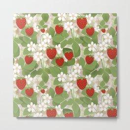 Strawberry. Metal Print
