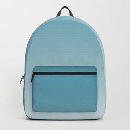 Ombre Damask Blue Backpack
