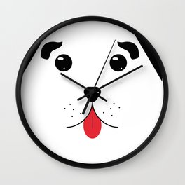 Dog 1 Wall Clock
