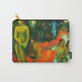 Delectable Waters (Te Pape Nave Nave) (1898) by Paul Gauguin. Carry-All Pouch