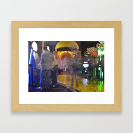 busy shutters Framed Art Print