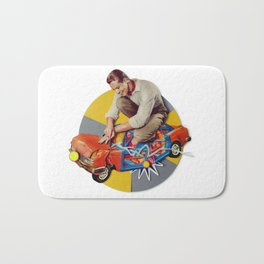 Mr Fixit   Collage Bath Mat