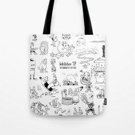 Inktober 2017 Tote Bag