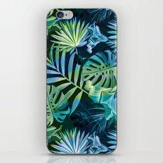 Tropical fiesta - moonlit iPhone & iPod Skin