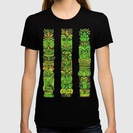 Tiki Totems – Green T-shirt