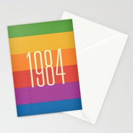 1984 (h) Stationery Cards