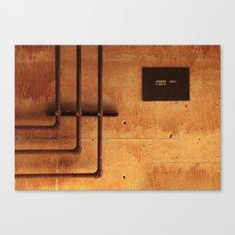 Access Area Canvas Print