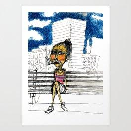 DVD BOX Barrio Art Print