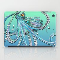 drunk iPad Cases featuring Drunk Octopus by TAOJB