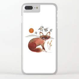 The Shy Fox Clear iPhone Case