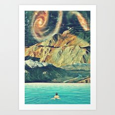Youniverse. Art Print