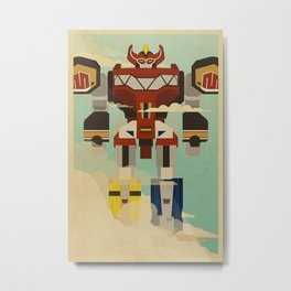 The Mega of the Zords Metal Print