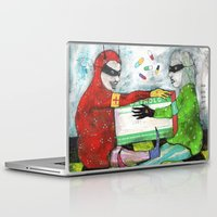 pills Laptop & iPad Skins featuring Pills by Franck Chartron