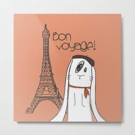 Bon Voyage! Metal Print