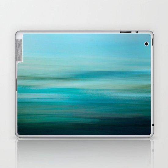 Greenish Blue Sea Laptop & iPad Skin
